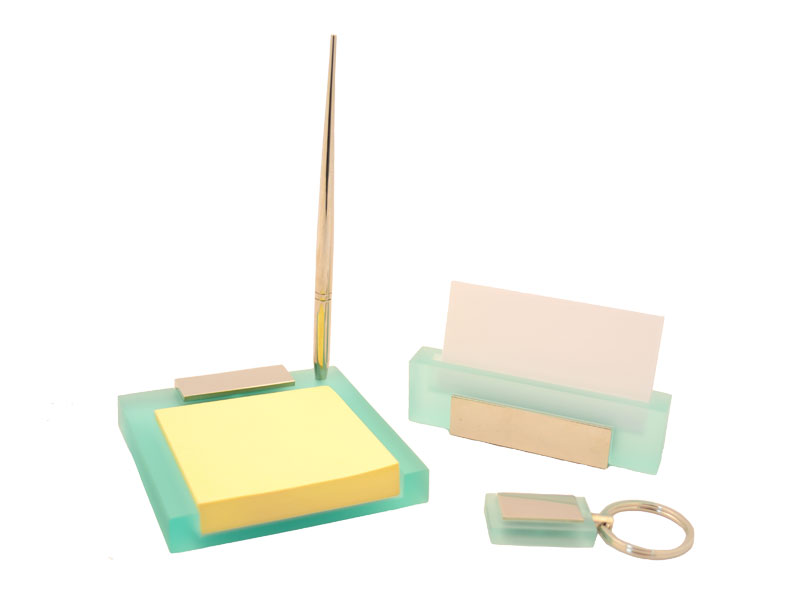 Grabbia productos personalizados con grabado laser - Juego de escritorio ...